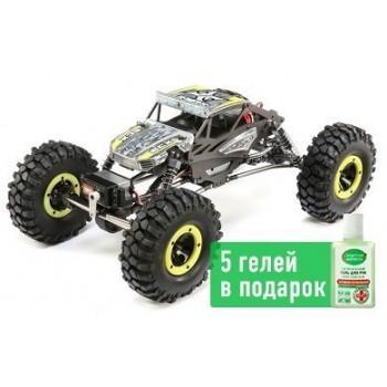 Краулер ECX 1:18 4WD Temper Gen 2, Brushed Yellow RTR