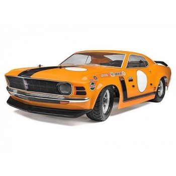 Модель шоссейного автомобиля HPI Racing BAJA 5R 1970 FORD MUSTANG BOSS 302 GASOLINE CAR 2WD RTR масштаб 1:5 2.4G - HPI-115123