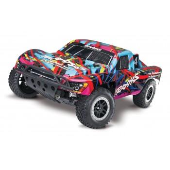 Радиоуправляемый шорт-корс трак Nitro Slash 1|10 TQi 2WD RTR масштаб 1:10 2.4G - TRA44056-3