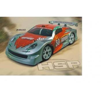 Модель раллийного автомобиля с ДВС HSP Rapido Car 4WD RTR масштаб 4WD - 94086-08602