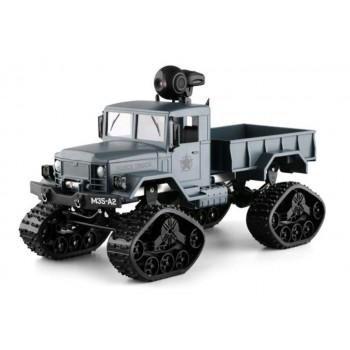 Радиоуправляемый краулер Aosenma RC Climbing Load Truck с wifi камерой, гусеницы, 4WD RTR масштаб 1:16 2.4G - FY001BW