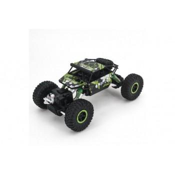 Радиоуправляемый краулер зеленый JD Toys RTR 4WD масштаб 1:18 2.4G - 699-93