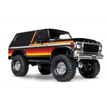 Радиоуправляемый краулер TRAXXAS Ford Bronco 4WD RTR масштаб 1:10 2.4G - TRA82046-4