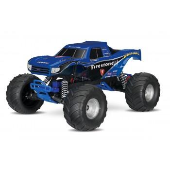 Радиоуправляемый монстр Traxxas BigFoot TQ Fast Charger 2WD RTR масштаб 1:10 2.4G - TRA36084-1