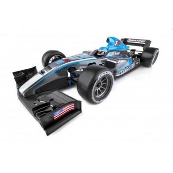 Радиоуправляемая модель шоссейного автомобиля Associated Electronic USA Формула RC10F6 FT KIT масштаб 1:10 2.4G - AS8023
