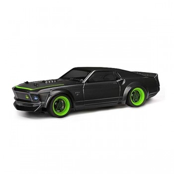LEGEND! Модель шоссейного автомобиля HPI Vaughn Gittin Jr`s MicroRS4 1969 Ford Mustang RTR-X 4WD RTR масштаб 1:18 2.4G - HPI-112468