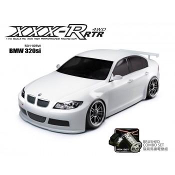Модель шоссейного автомобиля MST XXX-R BMW 320si 4WD RTR масштаб 1:10 2.4G - MST-531105W