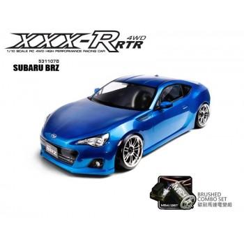 Модель шоссейного автомобиля MST XXX-R SUBARU BRZ Blue 4WD RTR масштаб 1:10 2.4G - MST-531107B