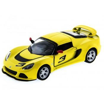 Машина Kinsmart Lotus Exige S (1/12шт) 1:40 б/к
