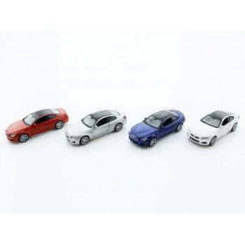 Машина 1:32 BMW M6 свет, звук, инерция 15,5см (1/12шт.) б/к