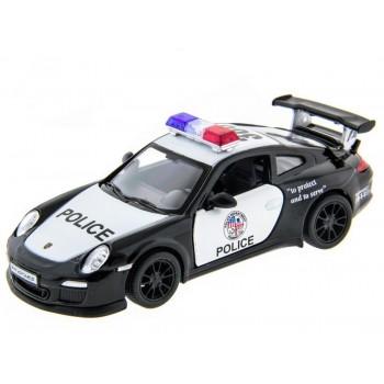 Машина Kinsmart 1:36 Porsche 911 GT3 RS (Police) в асс. инерция (1/12шт.) б/к