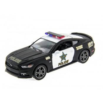 Машина Kinsmart 1:38 Ford Mustang GT 2015 (Police) инерция (1/12шт.) б/к