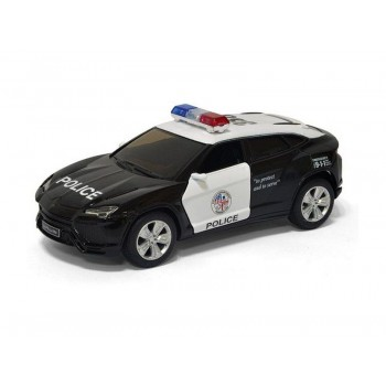 Машина Kinsmart 1:36 Lamborghini Urus (Police) инерция (1/12шт.) б/к