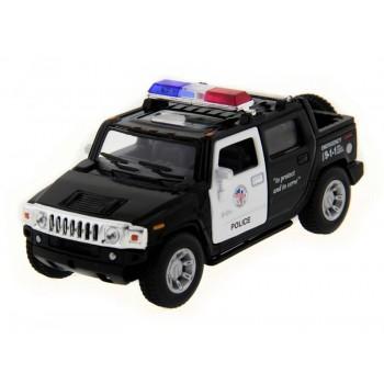 Машина Kinsmart 1:40 Hummer H2 Police инерция (1/12шт.) б/к