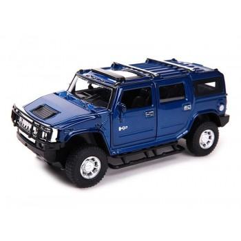 Машина MZ 1/32 Hummer H2 музыка, свет, инерция (1/12шт.) б/к