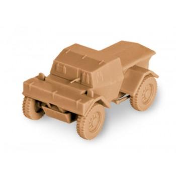 """Сборная модель ZVEZDA Британский бронеавтомобиль """"Динго"""", 1/100"""