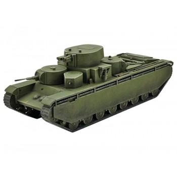 Сборная модель ZVEZDA Советский тяжелый танк Т-35, 1/100