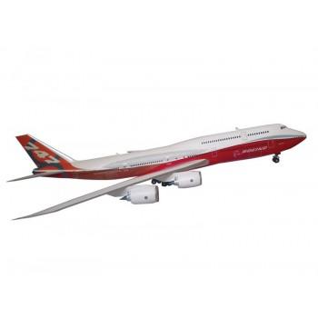 Сборная модель ZVEZDA Пассажирский авиалайнер Боинг 747-8, 1/144