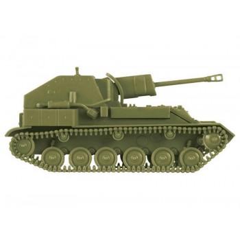 Сборная модель ZVEZDA Советская САУ СУ-76М, 1/100