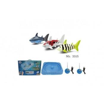 Радиоуправляемые рыбки роботы Create Toys с бассейном - 3315