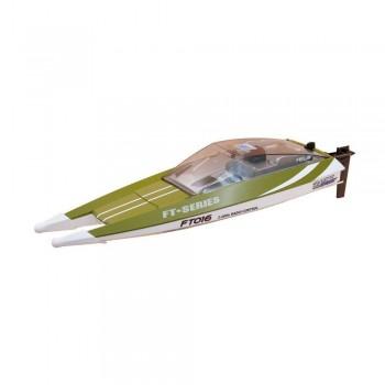 Радиоуправляемый катер Feilun FT016 Racing Boat Green RTR 2.4G