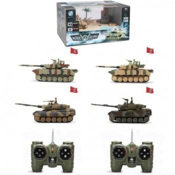 Радиоуправляемый мини танковый бой CS toys - 9819