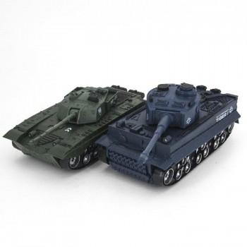 Радиоуправляемый танковый бой Тигр и Type 99 масштаб 1:32 27MHz, 40MHz - 369-22