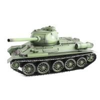 Радиоуправляемый танк Heng Long Russia T34-85 масштаб 1:16 2.4G - 3909-1
