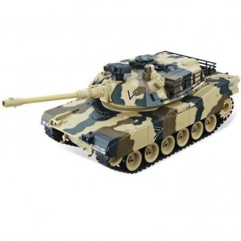 Радиоуправляемый танк HouseHold M1A2 Abrams Yellow Edition масштаб 1:20 40Mhz - 4101-5