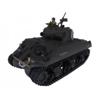 Радиоуправляемый танк Pilotage Sherman M4A3 Green Camouflage масштаб 1:24 27Mhz - RC7317