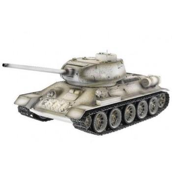 Радиоуправляемый танк Taigen Russia T34-85 Winter Camouflage Edition масштаб 1:16 ИК-управление - TG3909-1S-IR