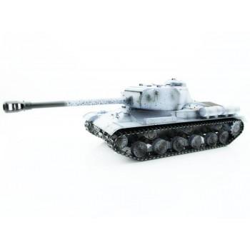 Радиоуправляемый танк Taigen ИС-2 модель 1944 (СССР) (для ИК танкового боя) (зимний) RTR масштаб 1:16 2.4G - TG3928-1S-IR