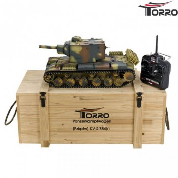 Радиоуправляемый танк Torro Russia КВ-2 RTR масштаб 1:16 2.4G - TR1112438785