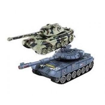 Радиоуправляемый танковый бой Zegan T-90 vs KingTiger 1:28 - 99821