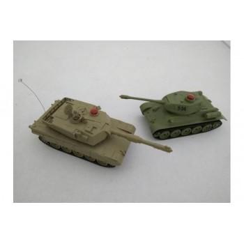 Радиоуправляемый танковый бой ИК M1A2 PK|Russia T-34 ZEGAN - 33821