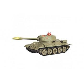 Радиоуправляемый танк Т-34 (на аккумуляторе, свет, звук) Huan QI 553