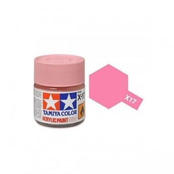 Краска для склеиваемых моделей (акрил) X-17 Pink - TAM-81517