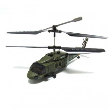 Радиоуправляемый вертолет Syma Black Hawk UH-60 Gyro 3CH ИК-управление - S102G