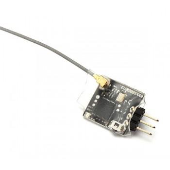 10-канальный мини приемник R6DSM (S-Bus, вес 1 грамм, размер 15 х 13 мм)