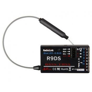 9-канальный приемник R9DS (4.8-10 В, совместимость - AT9, AT9S, AT10, AT10II)
