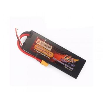 Аккумулятор LiPo Vant - 7.4В 6500мАч 100C 2S2P (Hardcase, разъем XT60)