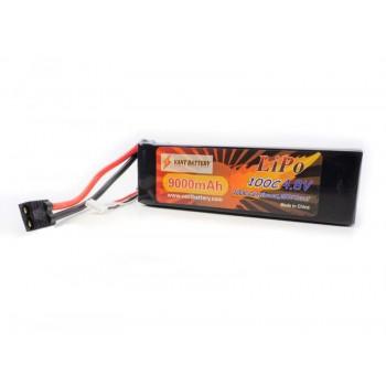 Аккумулятор LiPo Vant - 14.8В 9000мАч 100C 4S1P (Разъем Traxxas)
