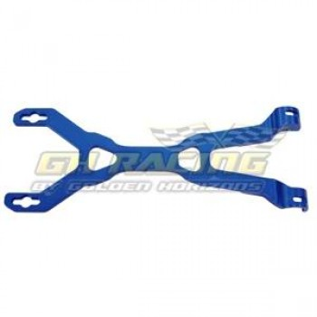 Алюминиевый батарейный ремешок (синий) - GH-4236