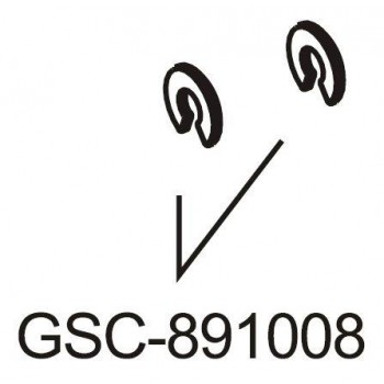 Вставки регулировочные Camber, Caster Insert, 1мм (12), 3мм(2) - GSC-891008
