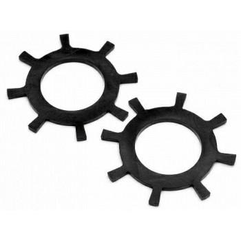 Кольца DAMPER RUBBER 33X1.4MM (BLACK) - HPI-87243