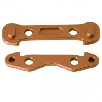 Alum. Front Arm Mount (Copper): ASSOCIATED RC8 - GH-2474