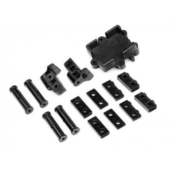 Детали крепления серво и транспондера (Steering Servo Mounts * Transponder Support) - HPI-101108