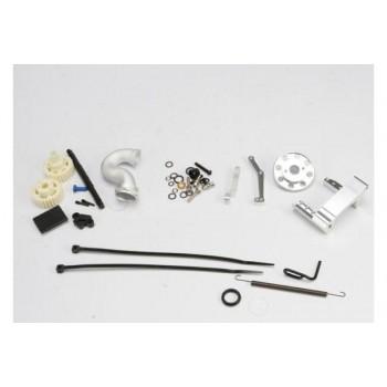 Моторама для крепления микро ДВС на пластине шасси с необходимым крепежом и деталями - TRA5360X (код товара: Б92824)