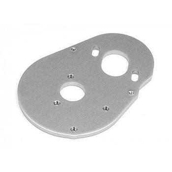 Пластина крепления мотора - MOTOR PLATE 3.0mm (7075|SILVER) - HPI-103374