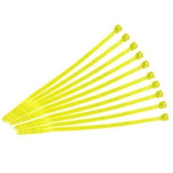 Стяжки 10см (желтые) - CT-0001YW